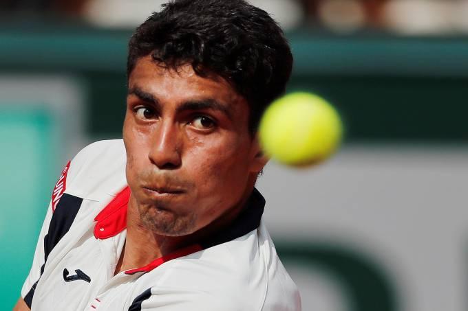 Thiago Monteiro em Roland Garros