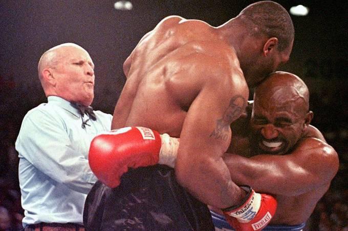 A mordida de Mike Tyson em Evander Holyfield