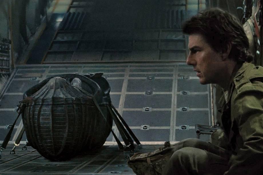 Tom Cruise (Rick O'Connell) em cena do filme 'A Múmia'