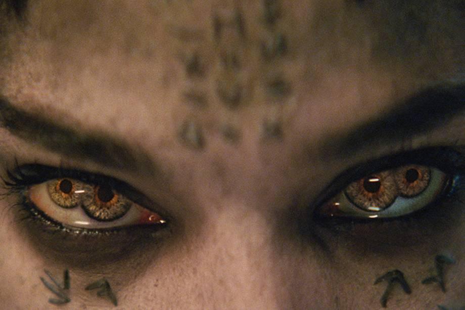 Sofia Boutella em cena do filme 'A Múmia'