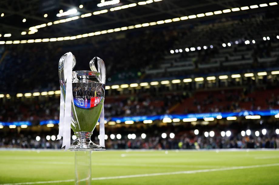 A final da Liga dos Campeões da Europa entre Real Madrid e Juventus no Millenium Stadium, em Cardiff, no País de Gales - 03/06/2017
