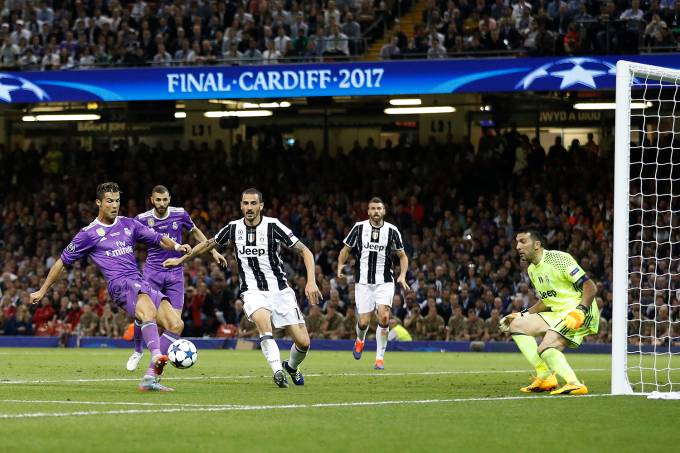 Cristiano Ronaldo do Real Madrid