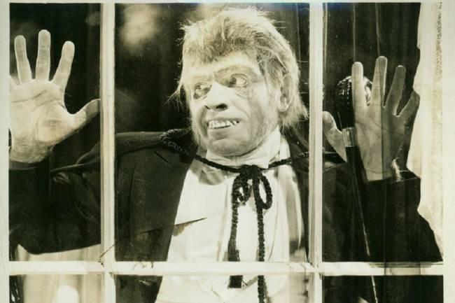 Fredric March no filme 'O Médico e o Monstro' (1931)