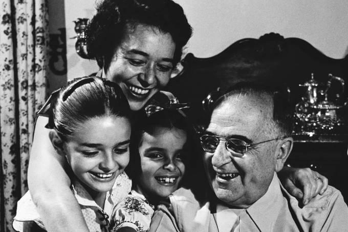 Getúlio com a filha Alzira