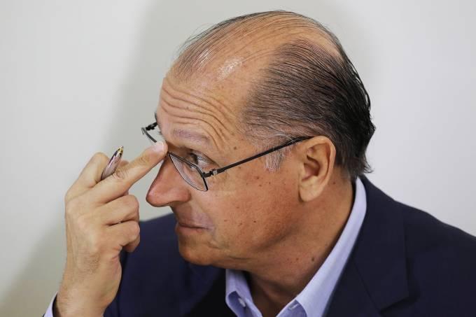 O governador de São Paulo, Geraldo Alckmin (PSDB) –  05/09/2014