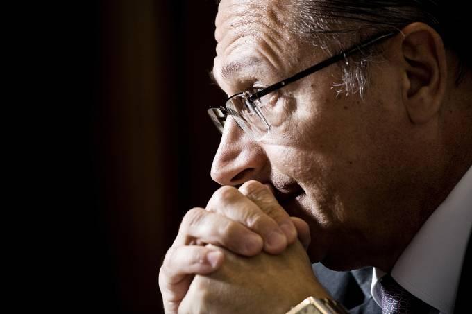 O governador de São Paulo, Geraldo Alckmin (PSDB) –  07/01/2011