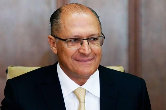 Governador de São Paulo, Geraldo Alckmin (PSDB), em Brasília –  12/01/2017