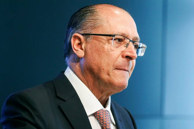 Governador de São Paulo, Geraldo Alckmin (PSDB), em Brasília –  15/05/2017