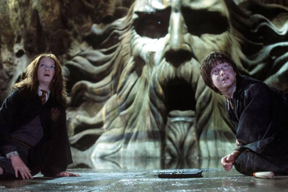 Cena de 'Harry Potter e a Câmara Secreta' (2002)