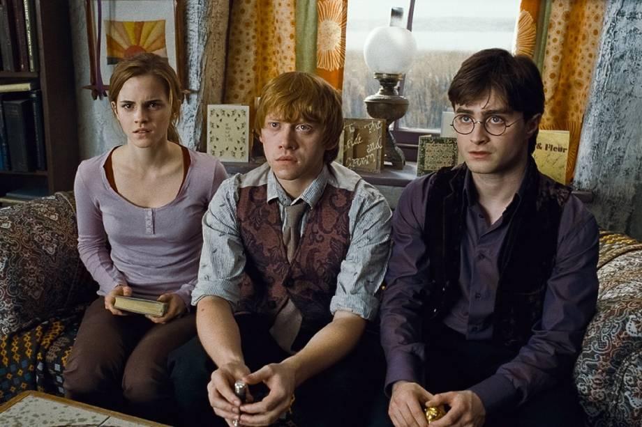 Cena de 'Harry Potter e as Relíquias da Morte: Parte I' (2010)