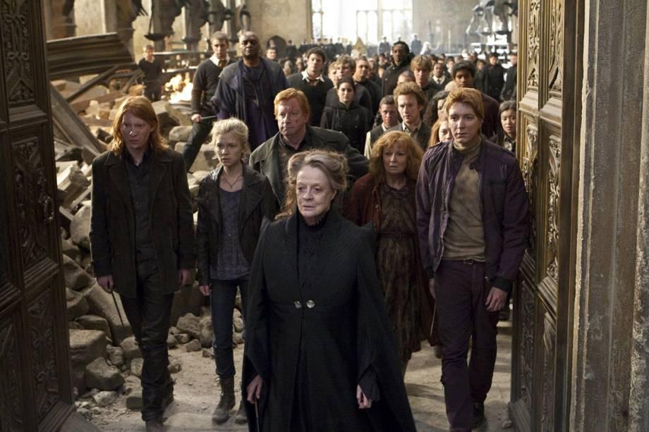 Cena de 'Harry Potter e as Relíquias da Morte: Parte II' (2011)