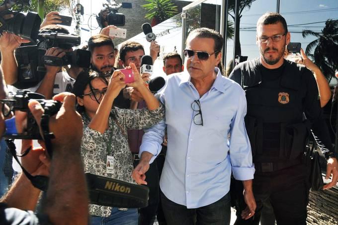 O ex-ministro do Turismo, Henrique Eduardo Alves