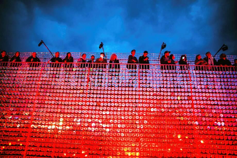Público acompanha festival de música em Gdynia, na Polônia - 30/06/2017