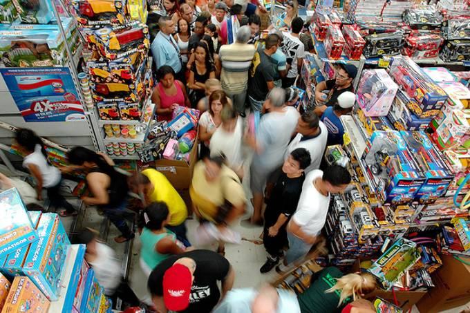 Economia – Consumo – Inflação – Brinquedos – Pib – comércio de rua