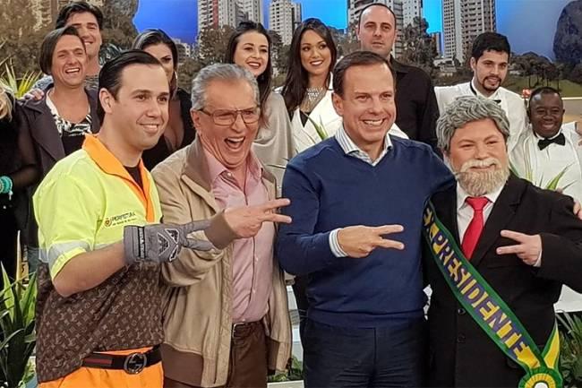 João Dória na Praça é Nossa