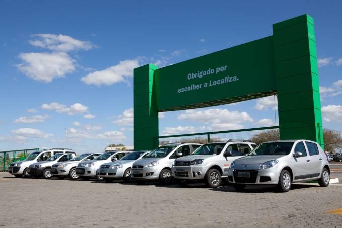 Frota Localiza Aluguel de Carros