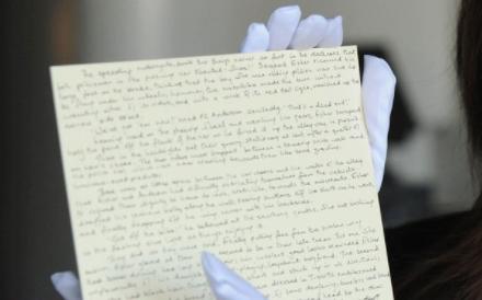 Manuscrito de Harry Potter que foi roubado e se tornou caso de polícia