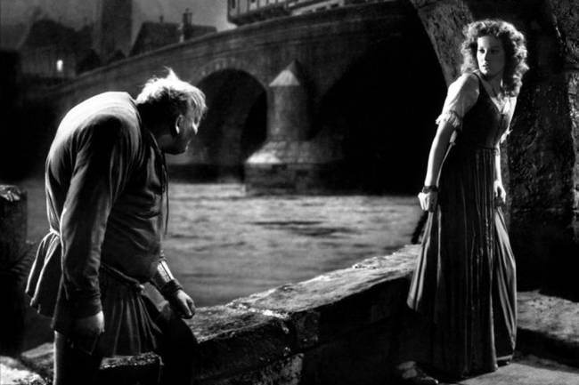 Maureen O'Hara e Charles Laughton 'O Corcunda de Notre-Dame' (1939)
