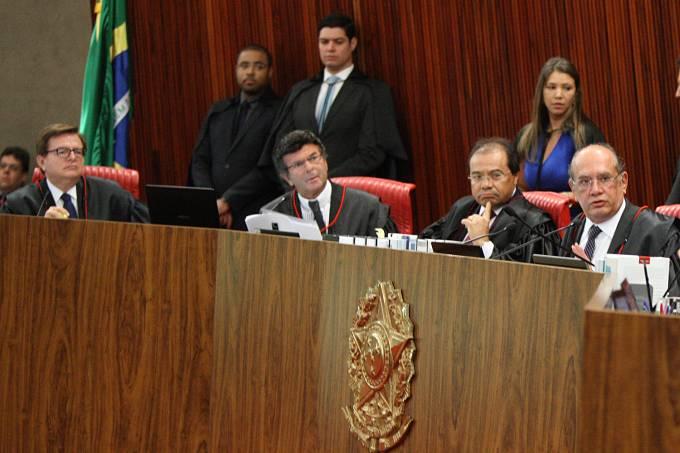 O presidente do TSE, Gilmar Mendes