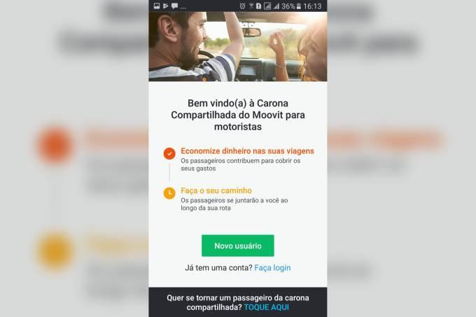 Moovit Carpool Brasil – Motorista 1
