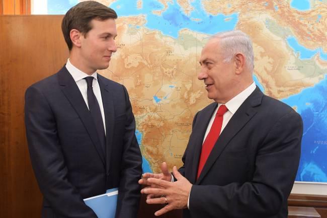 Benjamin Netanyahu e Jared Kushner