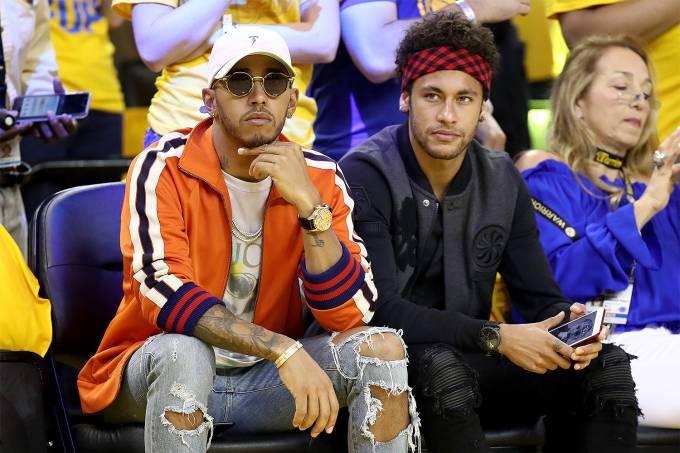2017 NBA –  Hamilton e Neymar
