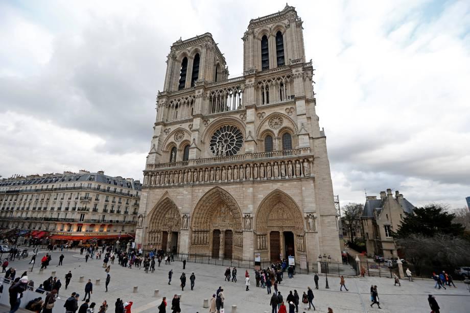 Catedral de Notre Dame em Paris, na França
