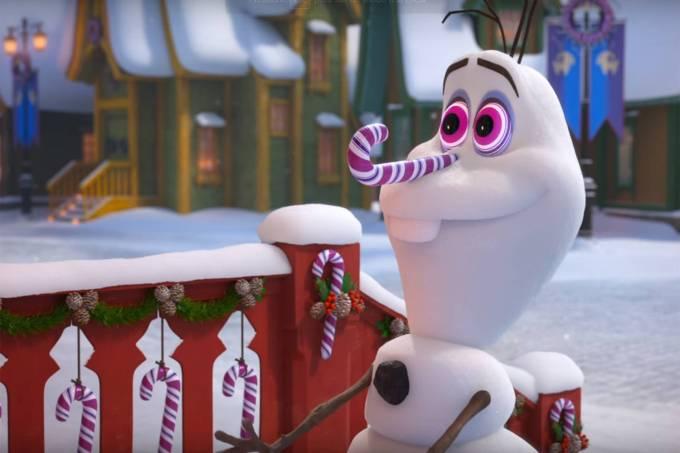 Olaf protagoniza o curta 'Olaf's Frozen Adventure'