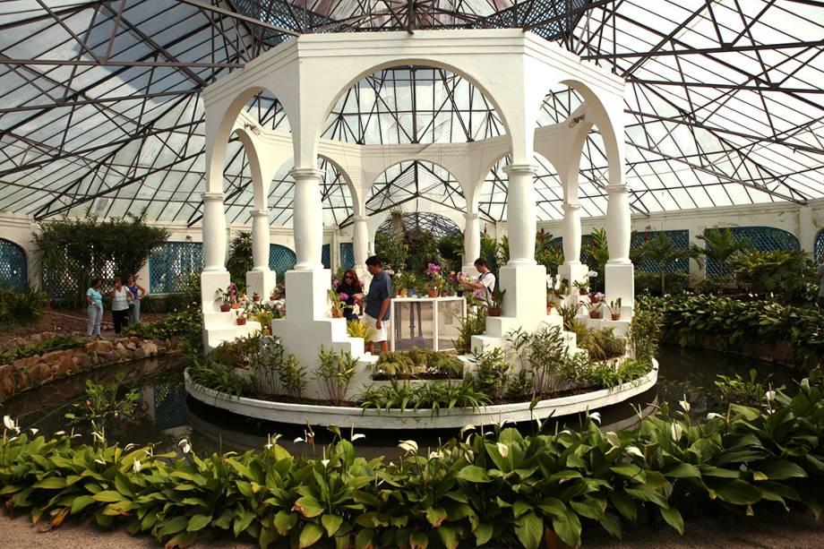 Orquidário do Jardim Botânico.