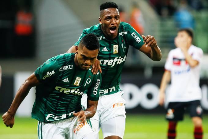 Palmeiras e Atlético Goianiense
