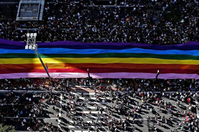 21ª Parada do Orgulho LGBT, em São Paulo