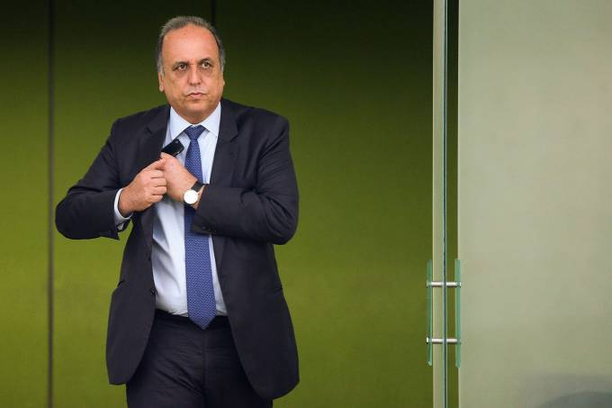 O governador do Rio de Janeiro, Luiz Fernando Pezão – 20/12/16