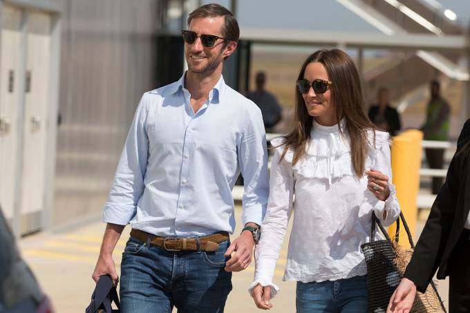Pippa Middleton e seu marido James Matthews –  01/06/2017
