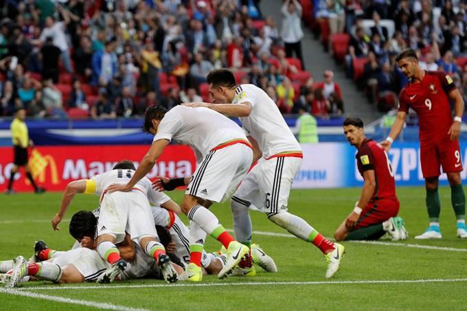 Copa das Confederações – Portugal e México