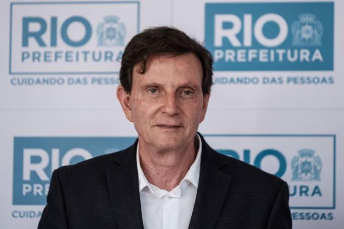 O prefeito do Rio de Janeiro, Marcelo Crivella – 19/06/2017
