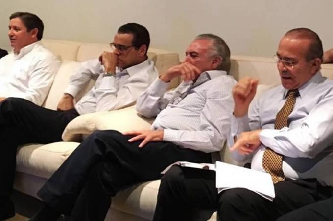 Rodrigo Rocha Loures, Michel Temer, Eliseu Padilha