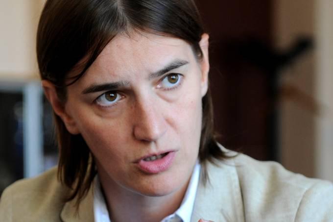 Ana Brnabic, primeira premiê mulher da Sérvia