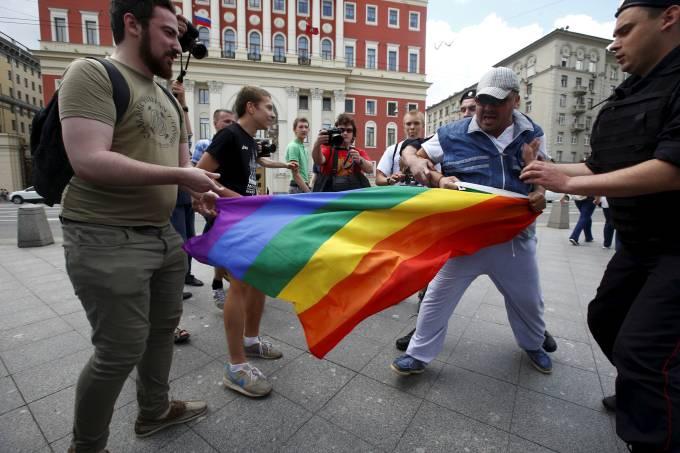 Homofobia na Rússia