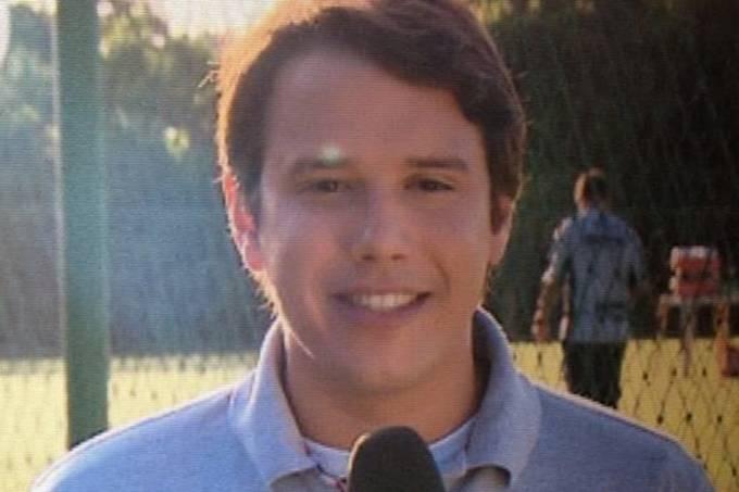Repórter Victor Bastos, da Rede Globo