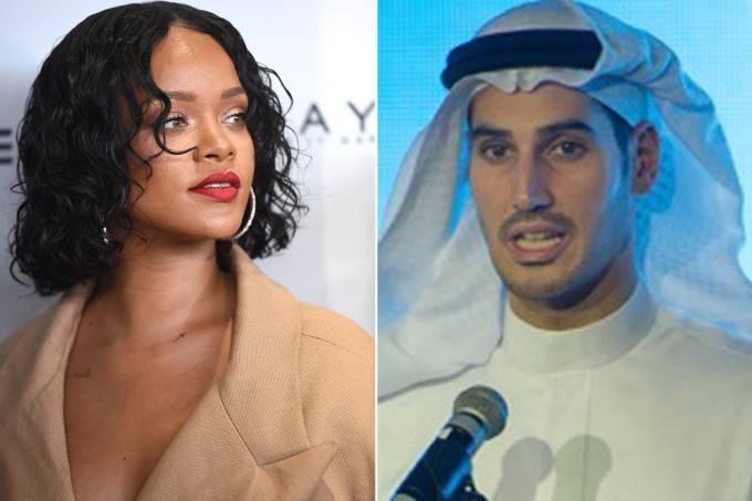 Rihanna e Hassan Jameel