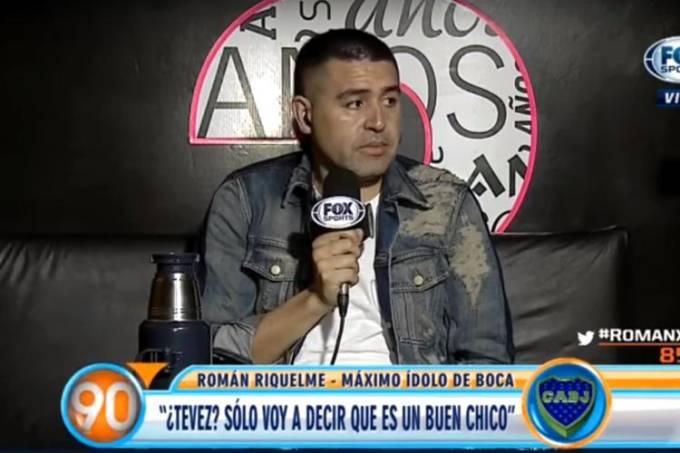 Juan Román Riquelme não quis polemizar ainda mais com ídolos do Boca Juniors
