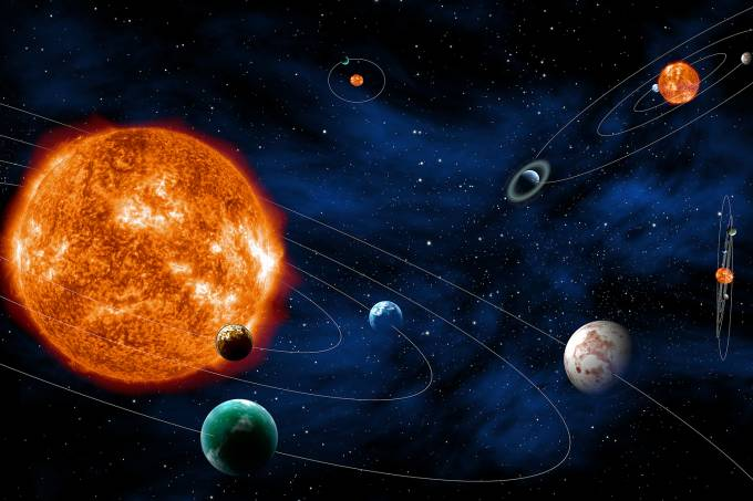 Busca por sistemas exoplanetários