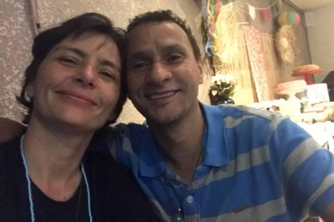 Soninha Francine e namorado Paulo Sérgio Martins