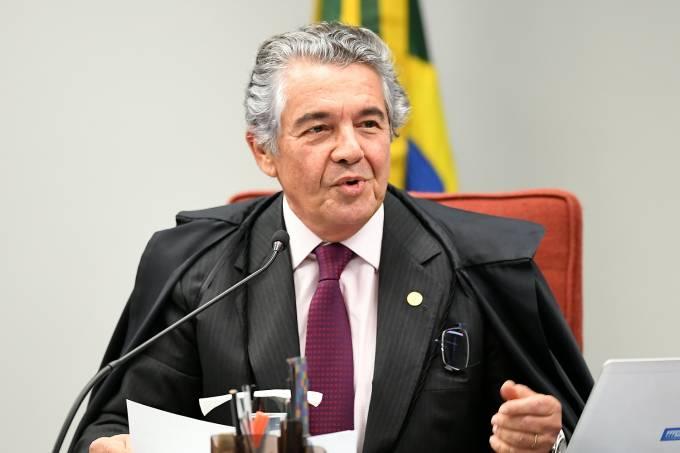 O ministro Marco Aurélio de Mello