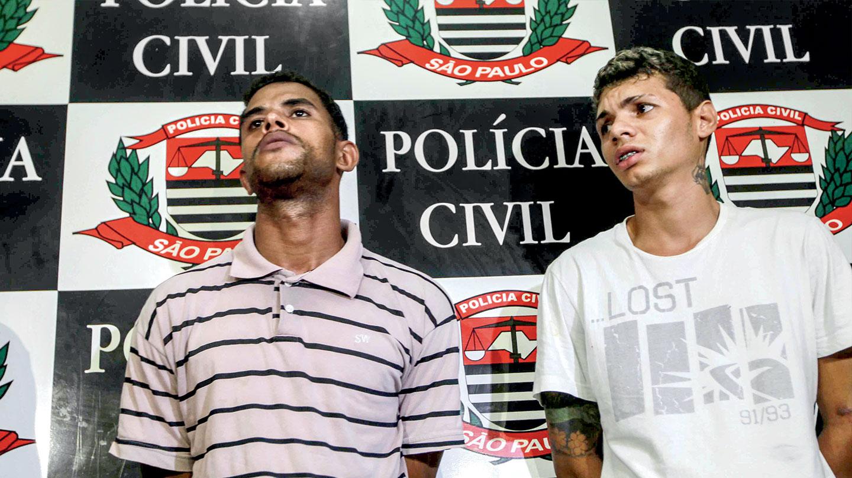 MAIS DOIS SUSPEITOS – Carlos Alex Oliveira de Jesus, 25 anos, e Lucas Rogério Fabrício Lopes, 20 anos