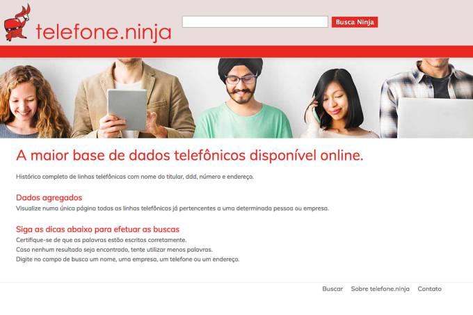 Telefone Ninja