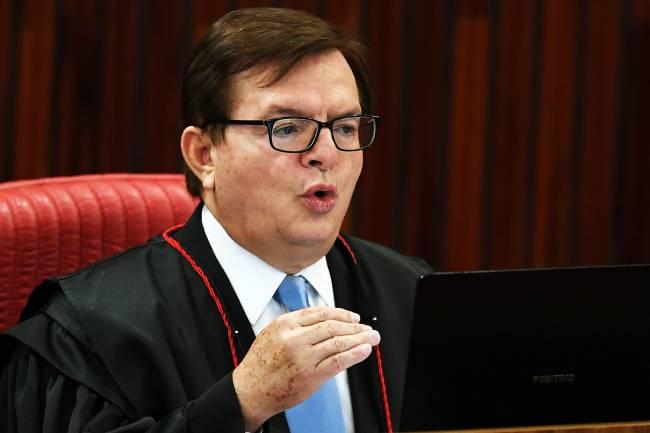Relator Herman Benjamin, em julgamento da chapa Dilma-Temer no TSE