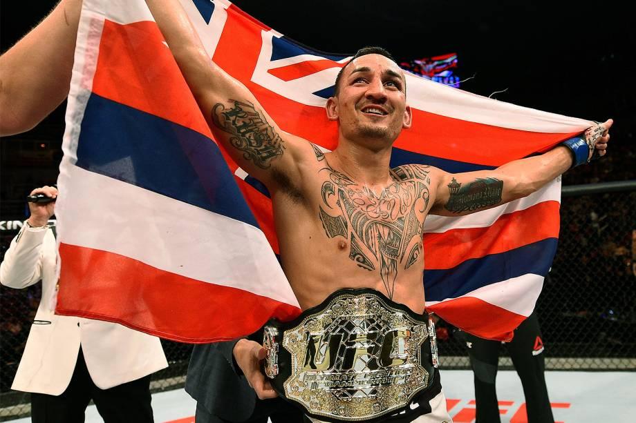 Max Holloway vence o brasileiro José Aldo no UFC 212, realizado na Jeunesse Arena, em Jacarepaguá, na zona oeste da cidade - 04/06/2017