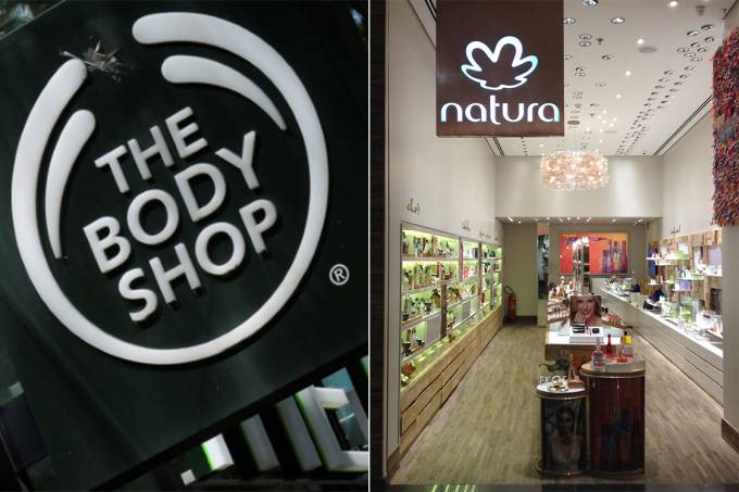 Natura e The Body Shop