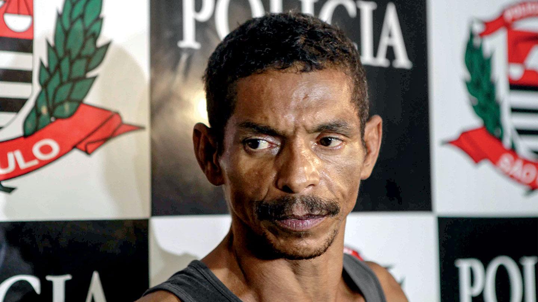 """UM SUSPEITO – Valmir Dias Barbosa, 50 anos, pai de cinco filhos e autor confesso da """"paulada na cabeça da vítima"""""""